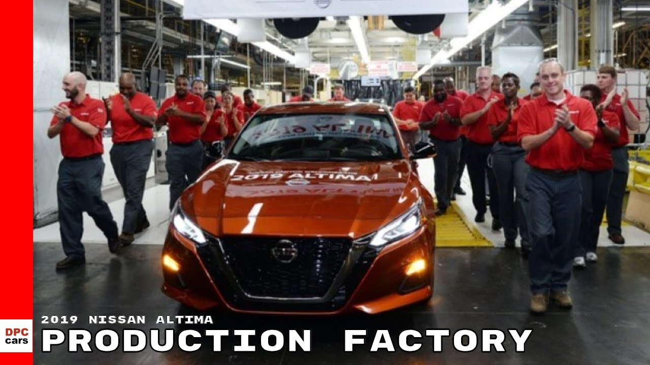 Where Nissan is produced 81