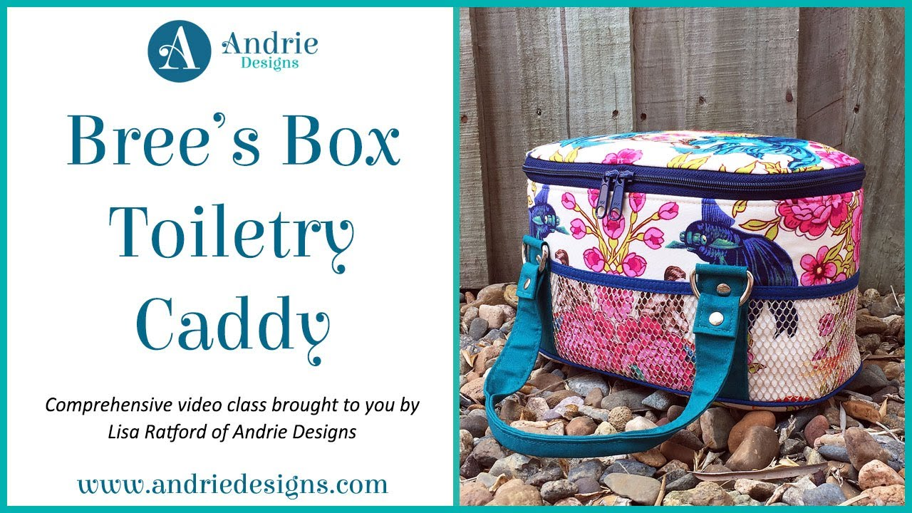 Bree\'s Box Toiletry Caddy Trailer - Andrie Designs - YouTube