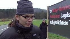 Tierschützer verärgern Adventmarktbesucher ORF Salzburg heute