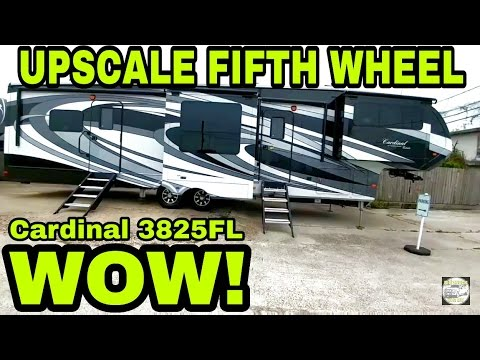 Upscale Cardinal Fifth Wheel! High end features!