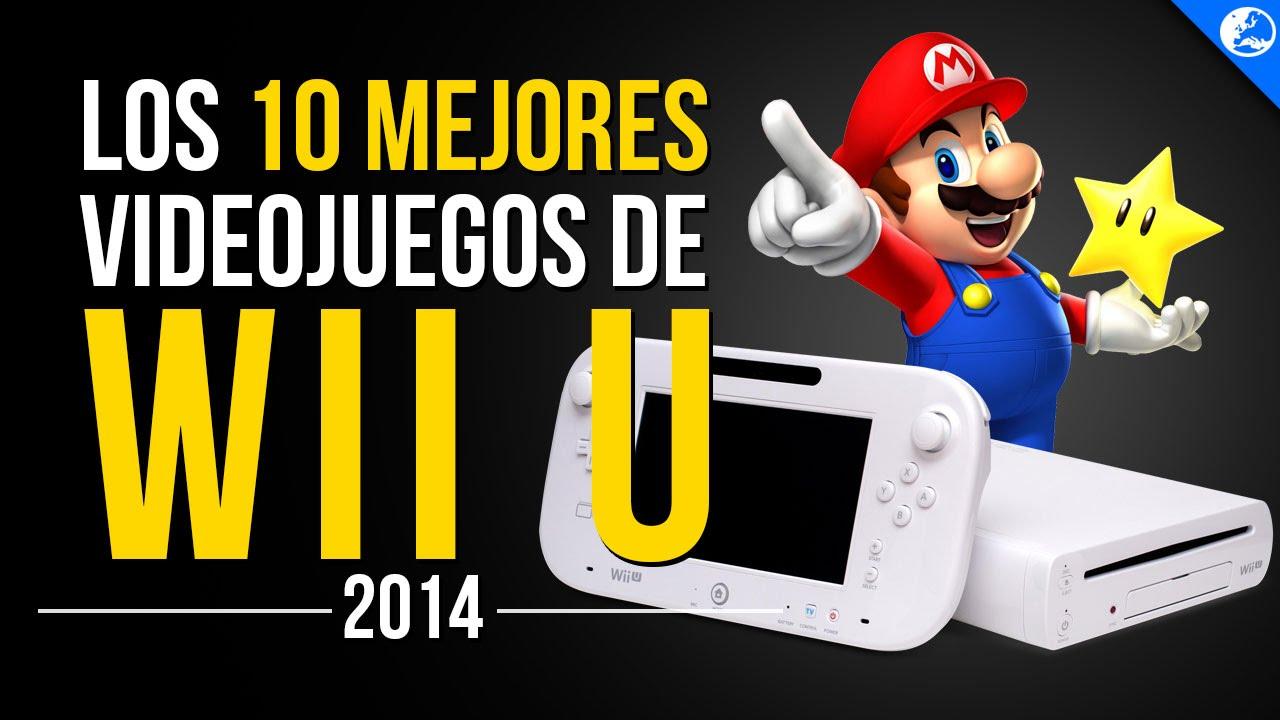 Los 10 Mejores Juegos De Wii U 2014 Youtube