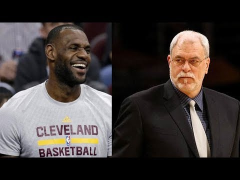 LeBron James SNEAK DISSES Phil Jackson Over Getting Fired by the Knicks