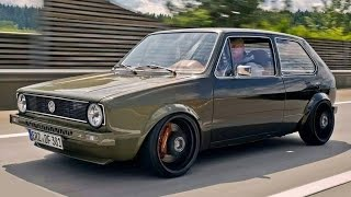 VW Golf 1 16V Turbo - custom carbon/kevlar monster   Frohlix Entertainment