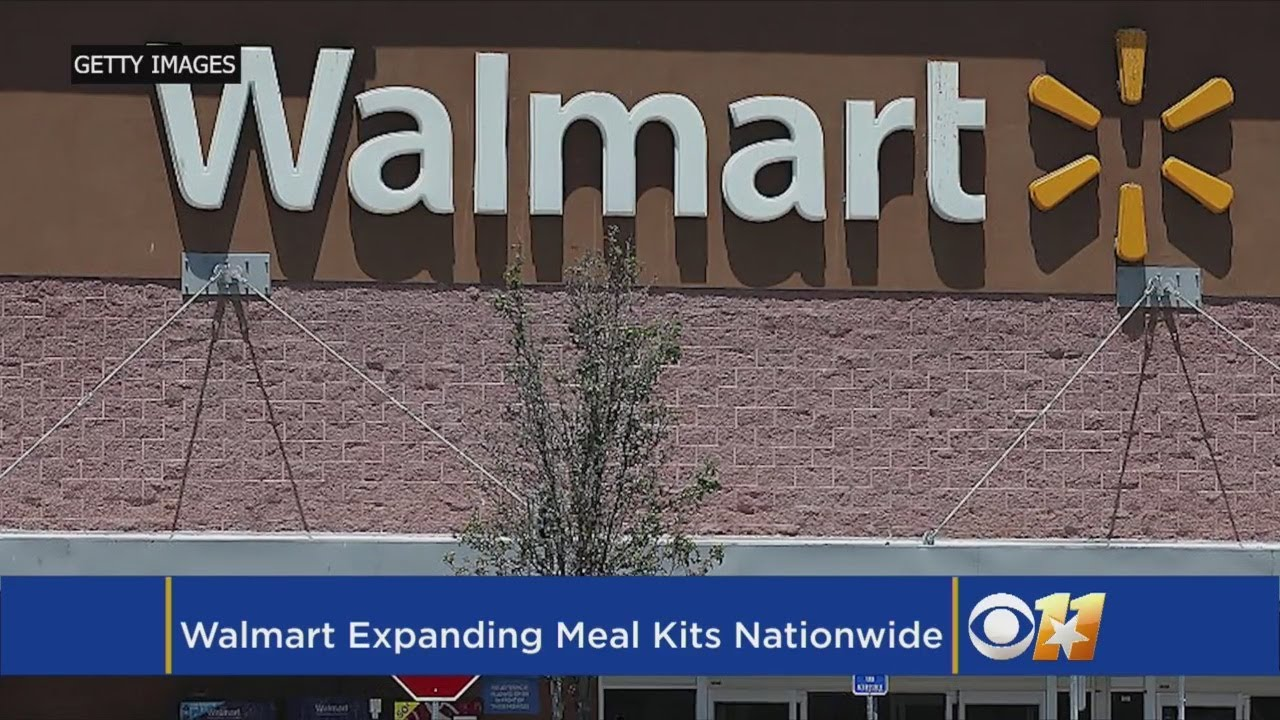 Walmart Expanding Meal Kits To More Than 2,000 Stores Nationwide