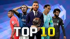 Top 10 Football Players of the Year 2019