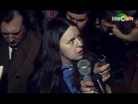 Bernadette Devlin delivers a proletarian protest (31/01/1972)