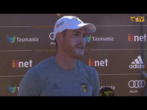 Press Conference: Jarryd Roughead Day 1 of pre-season 2018