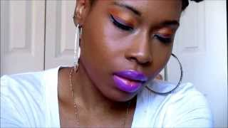 Purple Orang Blue: Eye Tutorial Thumbnail
