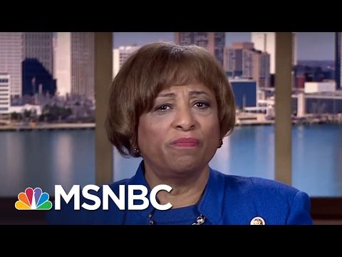 Congressional Black Caucus Member Reacts To President Donald Trump