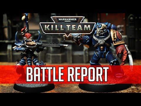 TAF Kill Team Battle Report: Drukhari vs Heretic Astartes