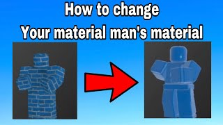 your material man roblox arsenal