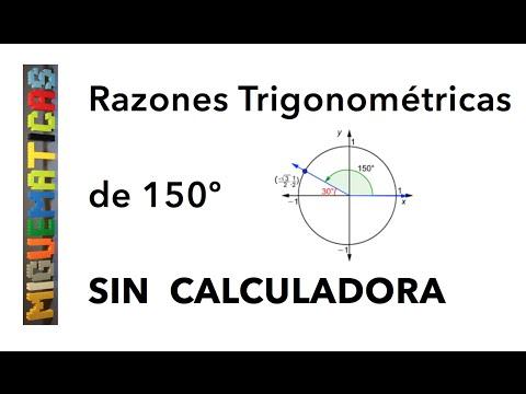 Trigonometría: Cálculo de las razones trigonométricas sin calculadora