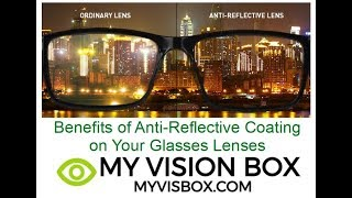 Benefits of the Anti-Reflective Coating on Glasses Lenses