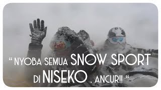 Nyobain snow sport sampe BEKU !!