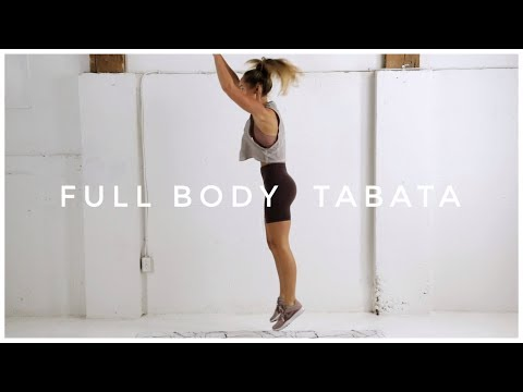 Advanced 4 Minute FULL BODY TABATA Workout // No Equipment