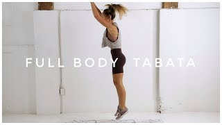 Advanced 4 Minute FULL BODY TABATA Workout // No Equipment