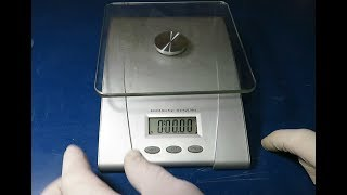 How to Take a Kitchen Scale Apart and Clean the Button Pad