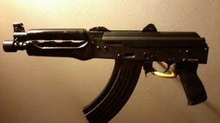 Zastava Pap M92 Ak Pistol - Ebony Handgrips Customization