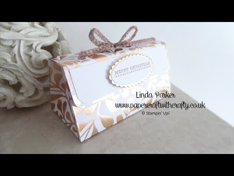 f78dde5783 Christmas Countdown Project No. 5 - Mini Clutch Bag Box with Magnetic  Closure