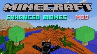Enhanced Biomes Mod - 35Nuevos Biomas!!! - Minecraft mod 1.7.2 y 1.7.10 Review ESPAÑOL