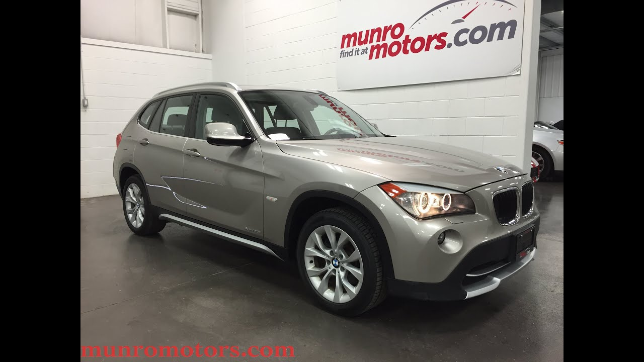 2012 Bmw X1 Xdrive28i Sold Premium Package Low Kms For