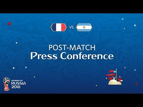 2018 FIFA World Cup Russia™ - FRA vs ARG -  Post-Match Press Conference