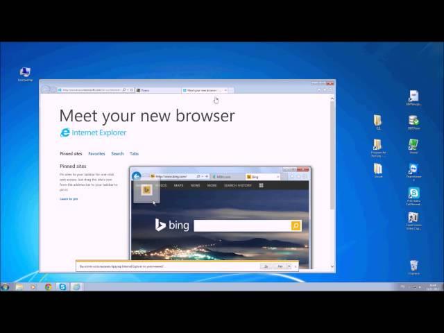 Как переустановить Internet Explorer в Windows 7