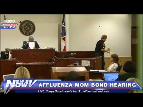 FNN: Affluenza Teen's Mom Tonya Couch Bond Hearing - Lowered from $1 Million to $75,000