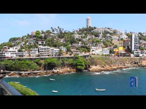 Hermosas vistas del Puerto de Acapulco