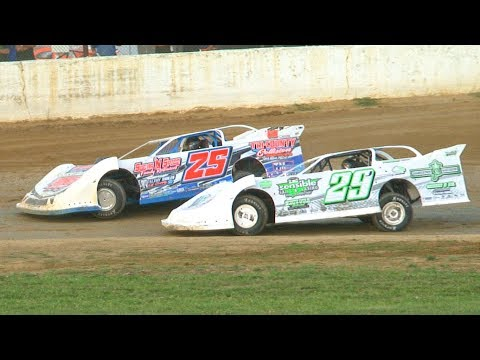 RUSH Crate Late Model Heat Three at Stateline Speedway (Busti, NY) on Saturday, August 31st, 2019! Stateline Speedway: http://newstatelinespeedway.com. - dirt track racing video image