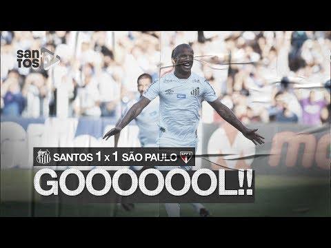 SANTOS 1 X 1 SÃO PAULO | GOL | BRASILEIRÃO (16/11/19)