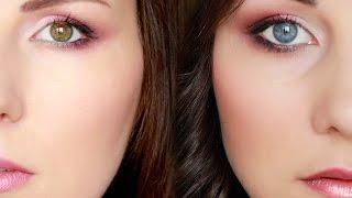 Возрастной макияж для карих, голубых и зеленых глаз (вечерний и на каждый день) — видео и фото