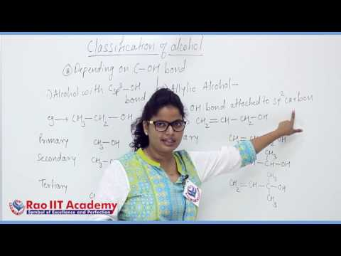 Alcohol,Phenol & Ether Part 1 Chemistry Board video lecture By Rao IIT Academy