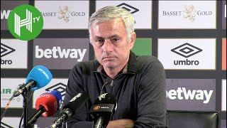 Jose Mourinho: Manchester United lack special characters - West Ham 3-1 Manchester United