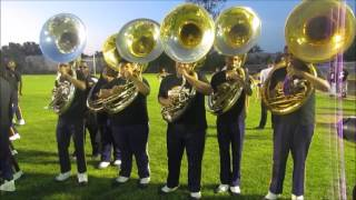 Edna Karr vs Belaire (Tubas) Scared of The Dark 2016-2017