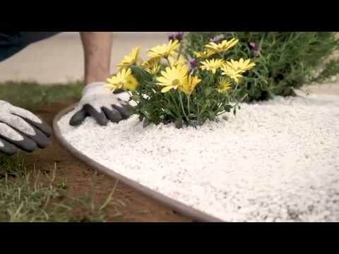 Epocadecò - Bordure de jardin en plastique - FR - YouTube