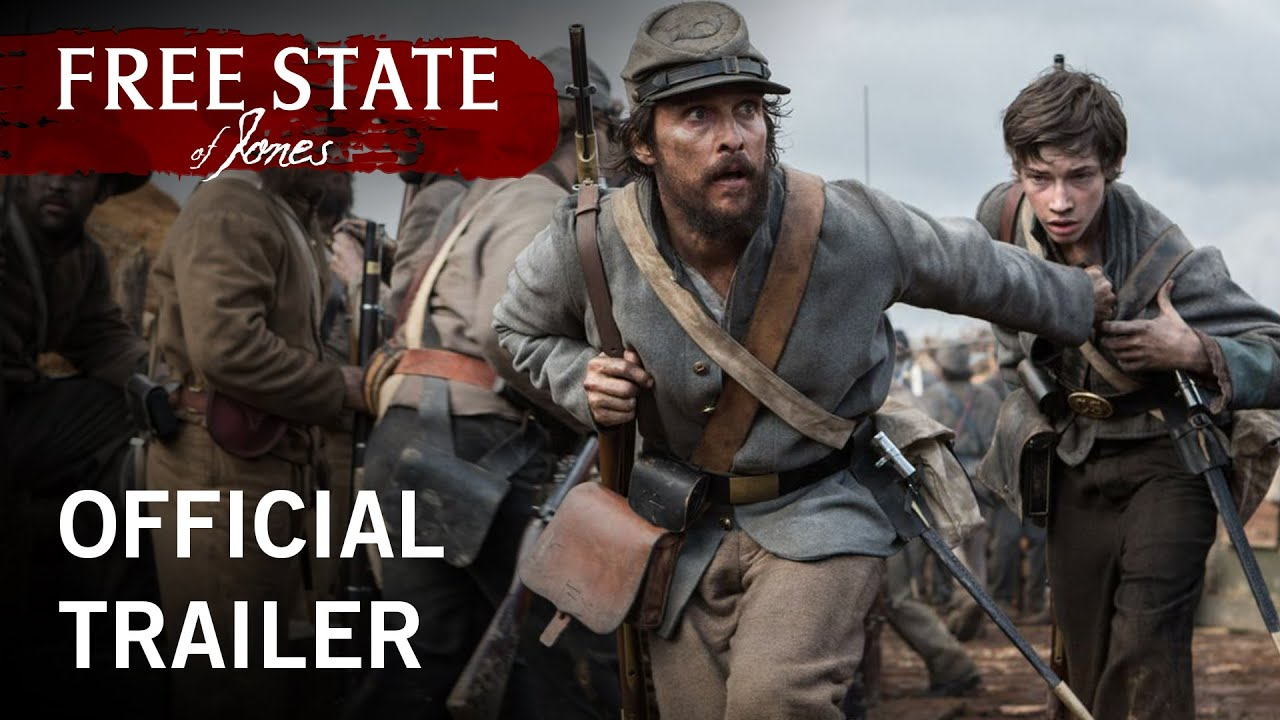 Free State of Jones | Official Trailer | Own It Now on Digital HD, Blu-ray, & DVD