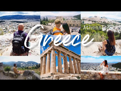 Greece Trip | Athens & Delphi in 4 minutes!