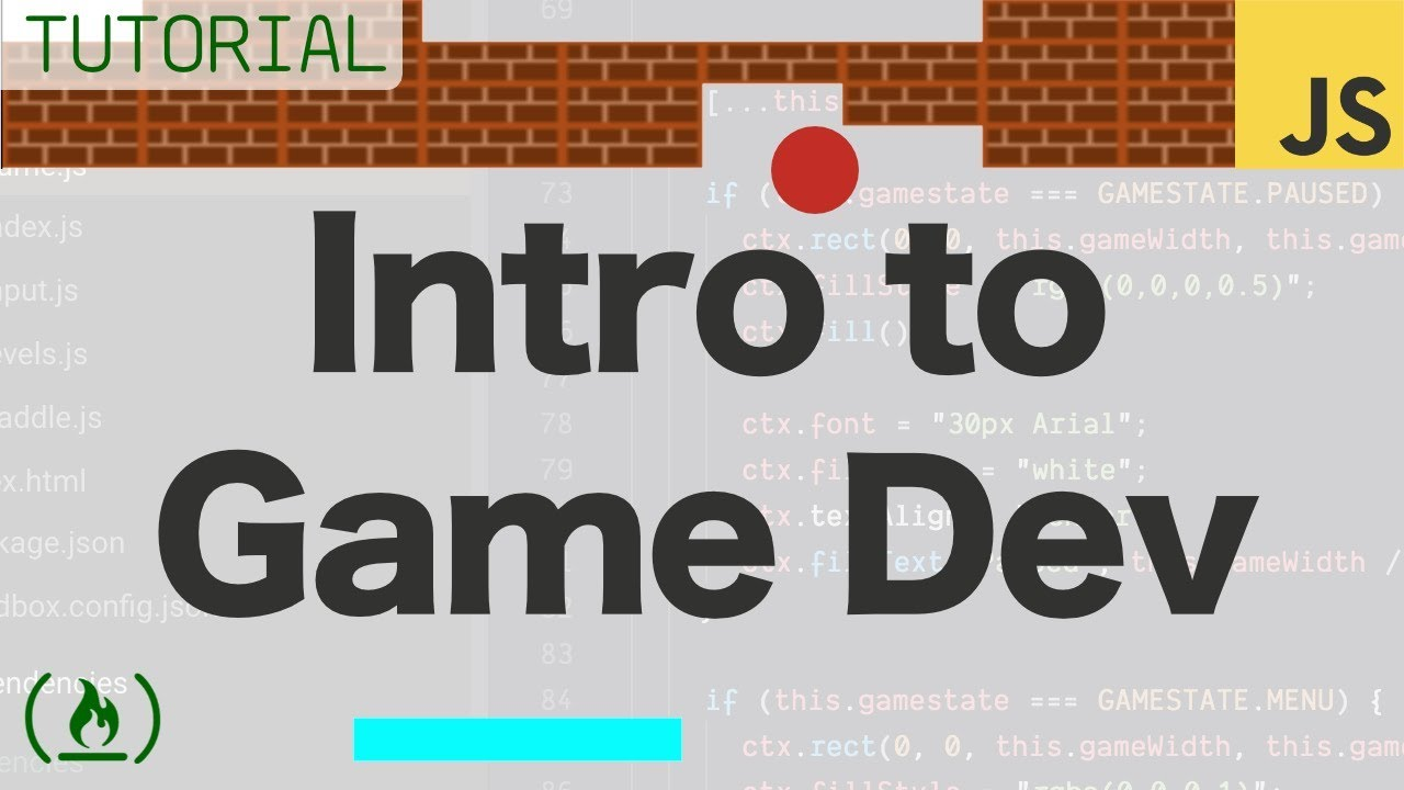 Intro to Game Development with JavaScript - Full Tutorial