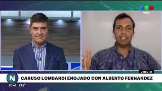 LA NOVELA CARUSO LOMBARDI   FERNÁNDEZ