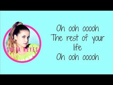 ♡ Sofía Reyes — Conmigo (Rest Of Your Life) || Letra ♡