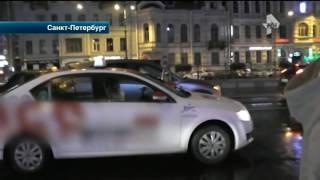 """В Петербурге рейд активистов"""" СтомХам"""" закончился ДТП"""