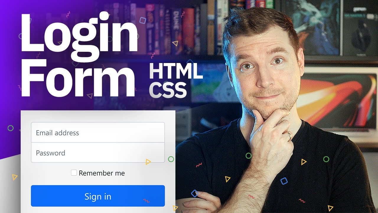 Creating a Login Form using HTML, CSS and Bootstrap 5