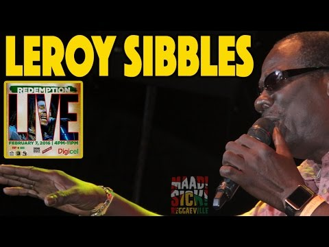Leroy Sibbles in Kingston, Jamaica @ Redemption Live 2016 [February 7th]
