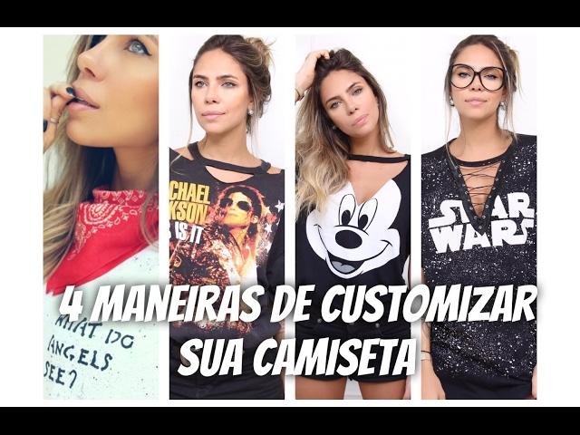 e1cc76544 Customização de camiseta  106 ideais para te inspirar  TUTORIAIS