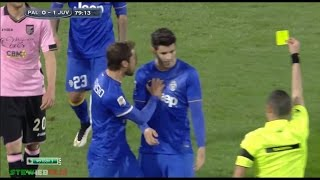 Morata vs Dybala (Marchisio told Morata don't foul,he's our player)