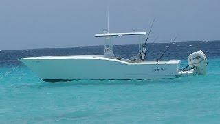 progress of building my 25 + 3 feet Carolina Center console boat