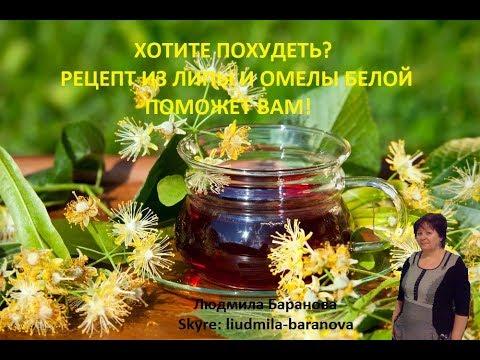 #Хотите похудеть? #Рецепт из липы и омелы белой поможет Вам!