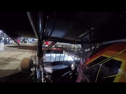 David Gravel onboard at Williams Grove Speedway, Morgan Cup Night 1