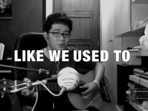 Rocket to The Moon - Like We Used To Cover by Yoseph (w/ LYRICS + Chords)